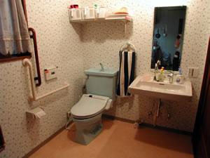 おもてなしの家 0.5坪サイズのトイレを1坪に拡大 After