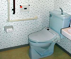 おもてなしの家 トイレ内部詳細