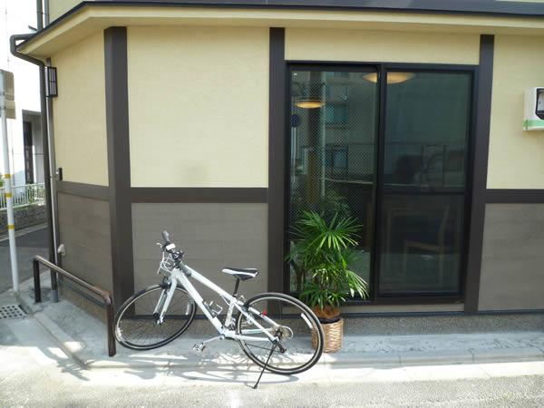 自転車と暮らす家