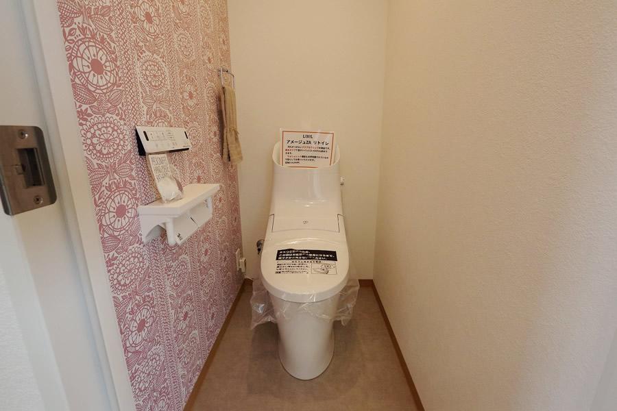 趣味を飾る家 トイレ