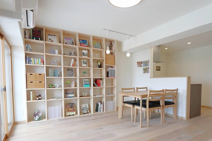 本と暮らす家 外観