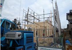 上棟式・大工工事・中間検査・構造体検査